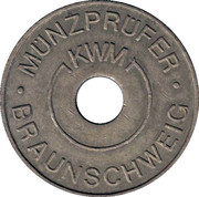 Token - KWM Münzprüfer (Karl W. Müller KG; without circle on obverse) – reverse