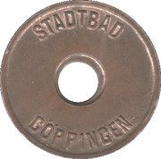 Public Swimming Pool Token - Goppingen (youth) – obverse