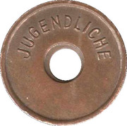 Public Swimming Pool Token - Goppingen (youth) – reverse
