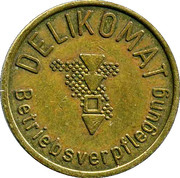 Token - Delikomat Wertmarke – obverse