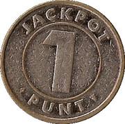 1 Punt - Jackpot – obverse