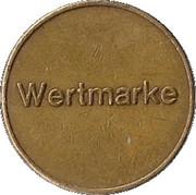 Token - JG Wertmarke – reverse