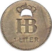 1 Liter  - Hofbrauhaus (Festhalle) – reverse