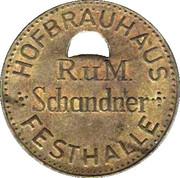 1 Liter  - Hofbrauhaus (Festhalle) – obverse