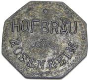 ½ Liter Dunkel Bier - Hofbräu (Rosenheim) – obverse