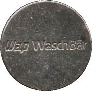 Car Wash Token - WAP Waschbär – reverse