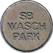 Car Wash Token - SB Wash Park – obverse