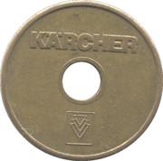 Car Wash Token - Kärcher (Wertmarke; 22 mm) – obverse