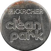 Car Wash Token - Kärcher Clean Park (Stuttgart/Heilbronn/Backnang/Neckarsulm, Type 2) – reverse