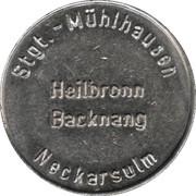 Car Wash Token - Kärcher Clean Park (Stuttgart/Heilbronn/Backnang/Neckarsulm, Type 2) – obverse