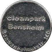 Car Wash Token - Kärcher Clean Park (Bensheim) – obverse