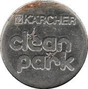 Car Wash Token - Kärcher Clean Park (Stuttgart/Heilbronn/Backnang/Neckarsulm) – reverse