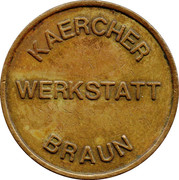 Car Wash Token - Kärcher Clean Park (Werkstatt Braun) – obverse
