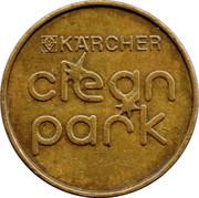 Car Wash Token - Kärcher Clean Park (AW) – reverse