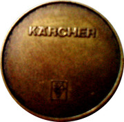 Car Wash Token - Kärcher (4) – obverse