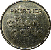 Car Wash Token - Kärcher Clean Park (Gelsenkirchen) – reverse