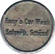 Car Wash Token - Rony's Car Wash (Schwäbisch Gmünd) – obverse
