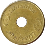 Car Wash Token - Washtec – obverse