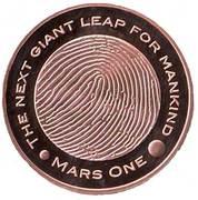 Token - Mars One – obverse