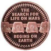 Token - Mars One – reverse