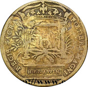 Token - Henri IV (Avec Marie de Médicis) – reverse