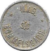 German Milk token – reverse
