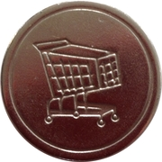 Shopping Cart Token – obverse