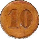 10 Kantine Kreuzer Emden – reverse