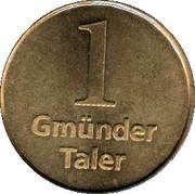 1 Gmünder Taler (Schwäbisch Gmünd) – reverse