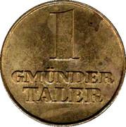 1 Gmünder Taler - Rems-Apotheke & Pfauenapotheke (Schwäbisch Gmünd) – reverse