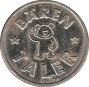 Bären Taler - Bären-Apotheke (Tübingen, Rottenburg) – reverse