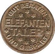 Elefanten Taler - Elefanten Apotheke (Memmingen) – reverse