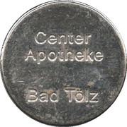 Pharmacy Token - Center-Apotheke & St.-Jakobus-Apotheke (Bad Tölz, Lenggries) – obverse