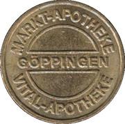 Bonus Taler - Markt-Apotheke (Göppingen) – obverse