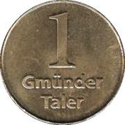Gmünder Taler (Schwäbisch Gmünd) – reverse