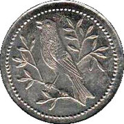 "Play Money ""1"" (Bird) – obverse"