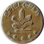 2 Pfennig (Spielgeld) – obverse