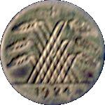 5 Pfennig (Spielgeld Rechenmünze; German Reich) – obverse
