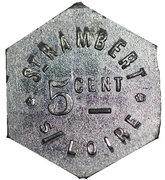 5 Centimes - Potage (St-Rambert-sur-Loire) – obverse