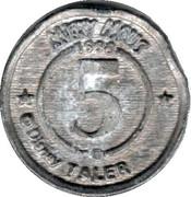 5 Taler - Entenhausener Bank (Play Token) – reverse