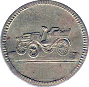 Spiel Marke (Baloon and car) – obverse