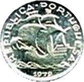 2.50 Escudos (Miniature coin; Silver) – obverse