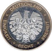 Token - Deutschland Einigkeit Recht Freiheit (Brandenburg) – reverse