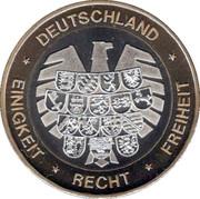 Token - Deutschland Einigkeit Recht Freiheit (Bayern) – reverse
