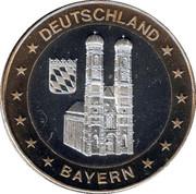 Token - Deutschland Einigkeit Recht Freiheit (Bayern) – obverse