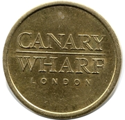 Parking Token - Canary Wharf London (20 mm) – obverse