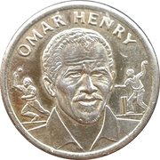 Official Shoprite and Checkers Medal Collection - Omar Henry – obverse