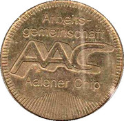 Parking and Bus Token - Aalen – obverse