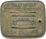 Tramway Token - Schleswig – obverse