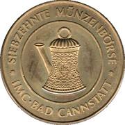 Token - Siebzehnte Münzenbörse Bad Cannstatt – obverse